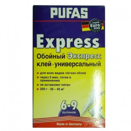 Клей Пуфас для бумажных обоев 200 гр