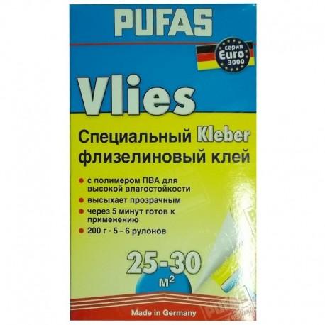 Клей Пуфас для флизелиновых обоев 200 гр